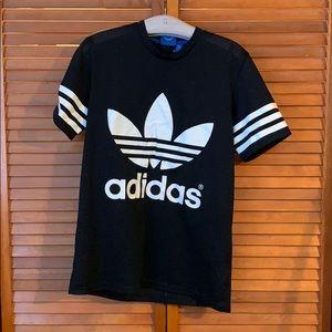 Men's Adidas black Jersey tshirt size medium